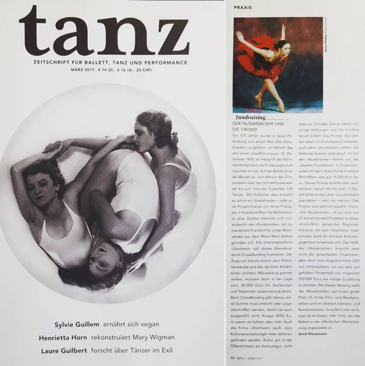 """TanzMagazin - Klassisches Ballett """"Der Nussknacker"""""""