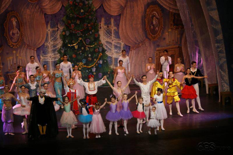 dsc01620 DAS RUSSISCHE NATIONALBALLETT THE CROWN OF RUSSIAN Ballett Nussknacker - Produktion