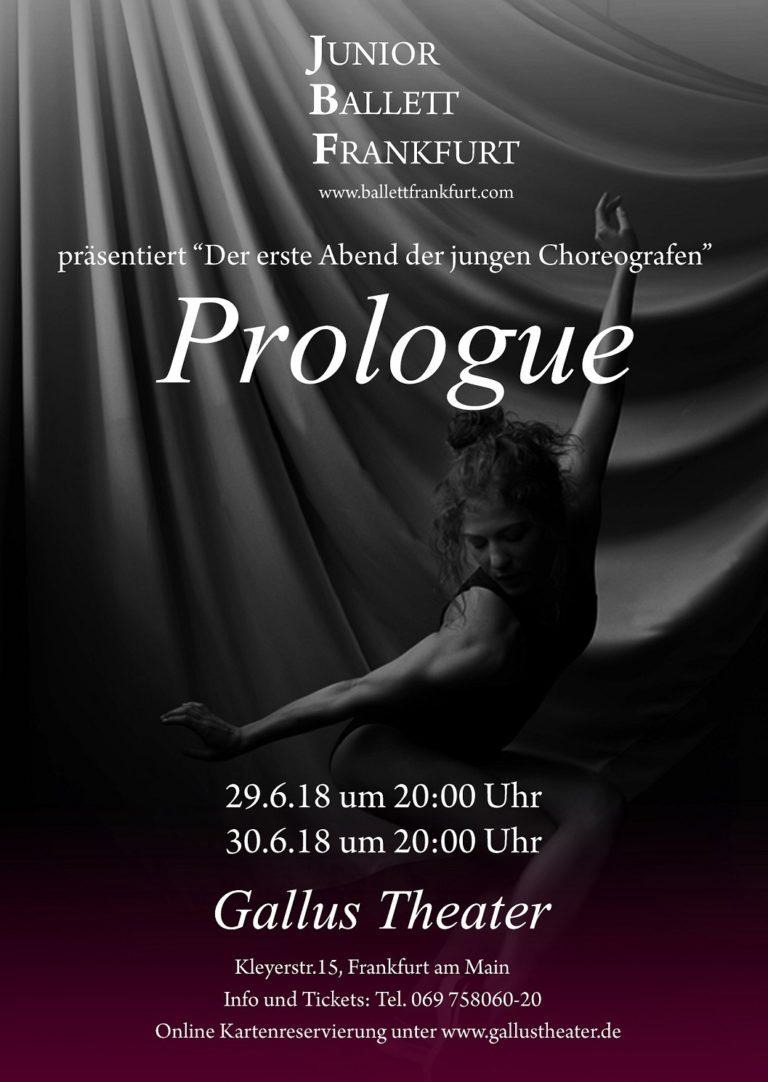 Prologue Poster 2018 small 768x1082 - Prologue