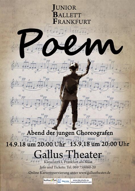 Poem Poster 2018 JBF - Poem – Poesie trifft Bewegung –